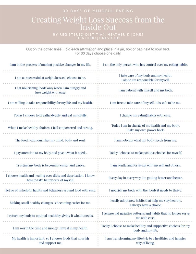 30 Day Mindful Eating PDF